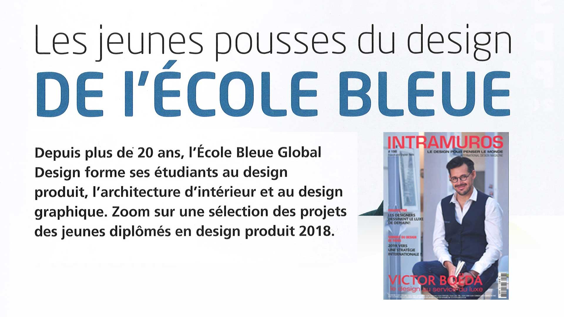 ecole bleue architecture intrieur design et scnographie design archi ecole bleue expo diplmes 2018